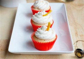 Mimosa cupcakes from Dainty Chef